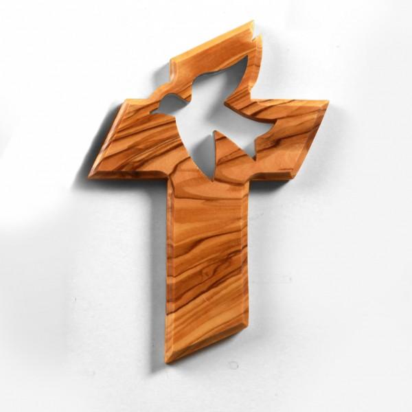 Kreuz mit Friedenstaube 13 cm